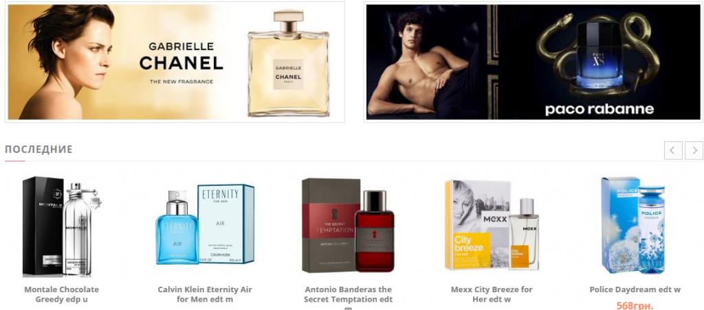 Интересные факты из мира парфюмерии