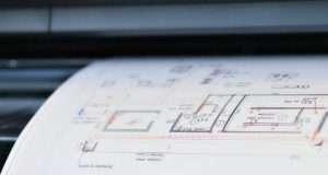 Современная печать чертежей для архитекторов