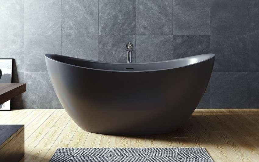 Шикарная каменная ванна – удобно и стильно